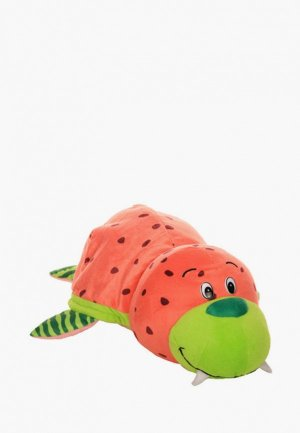 Игрушка мягкая Вывернушка Ням-Ням 2в1, 40 см. Морж-Дельфин. Цвет: разноцветный