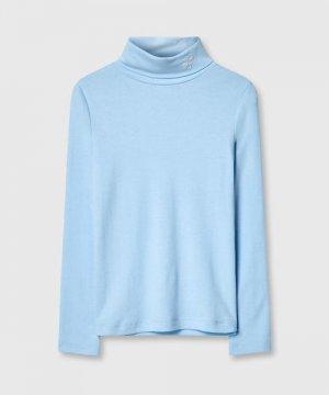Джемпер для девочек O`Stin. Цвет: пыльно-голубой
