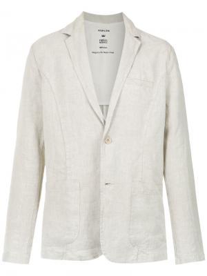 Пиджак с накладными карманами Osklen. Цвет: нейтральные цвета