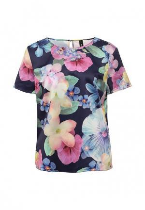 Блуза Bestia. Цвет: разноцветный