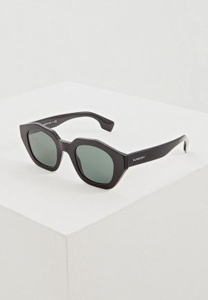Очки солнцезащитные Burberry BE4288 300171. Цвет: черный