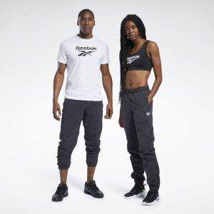 Спортивные брюки Classics Vector Reebok. Цвет: black / black