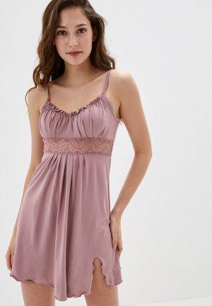 Сорочка ночная Arloni. Цвет: розовый
