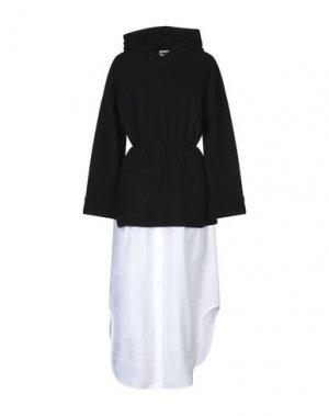 Платье до колена HACHE. Цвет: черный