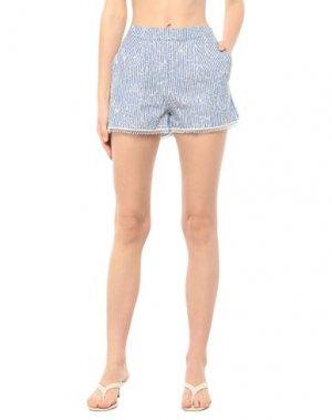 Пляжные брюки и шорты BLUMARINE. Цвет: синий