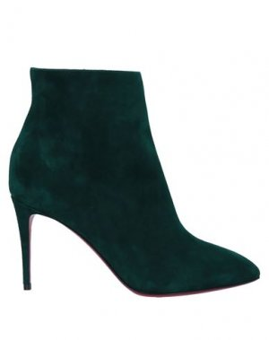 Полусапоги и высокие ботинки CHRISTIAN LOUBOUTIN. Цвет: изумрудно-зеленый