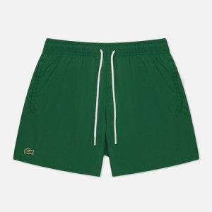 Мужские шорты Light Quick-Dry Swim Lacoste. Цвет: зелёный