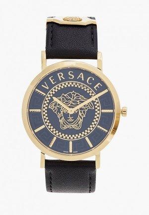 Часы Versace VEK400421. Цвет: черный
