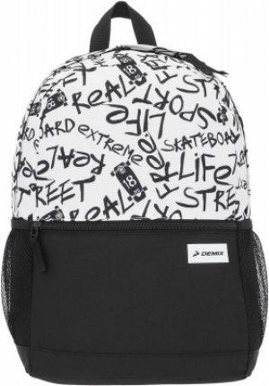 Рюкзак для мальчиков Demix. Цвет: разноцветный