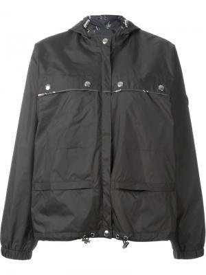 Куртка-ветровка с капюшоном Kenzo. Цвет: серый