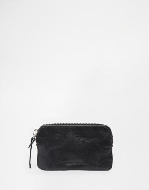 Кожаный бумажник на молнии Royal-RepubliQ Aims Royal RepubliQ. Цвет: черный
