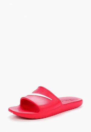 Сланцы Nike Mens Kawa Shower Slide. Цвет: красный