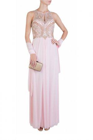 Платье MIKAEL. Цвет: бордовый