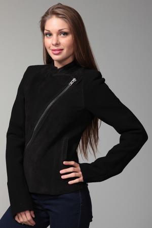 Куртка кожаная Haider ackermann. Цвет: черный