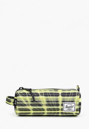 Пенал Herschel Supply Co. Цвет: зеленый