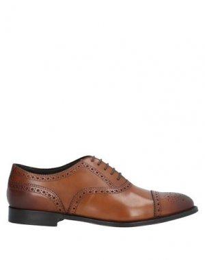 Обувь на шнурках CASTORI. Цвет: коричневый