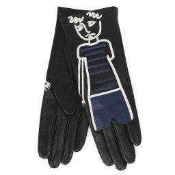 Перчатки PREMIER_FLIR черный AGNELLE