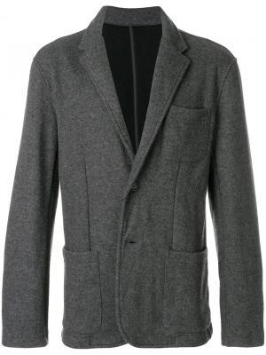 Пиджак мешковатого кроя Michael Kors Collection. Цвет: серый