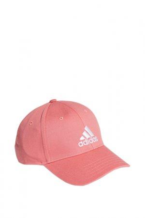 Бейсболка Bball Cap Cot adidas. Цвет: розовый
