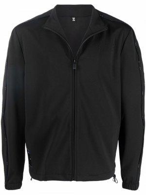 Легкая куртка с контрастной отделкой MCQ. Цвет: черный