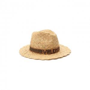 Шляпа Valentino. Цвет: бежевый