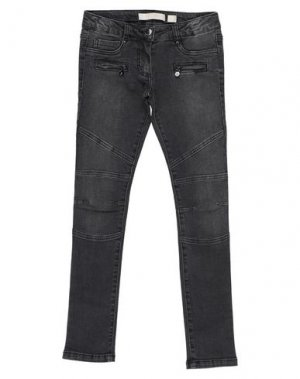 Джинсовые брюки ELSY. Цвет: черный