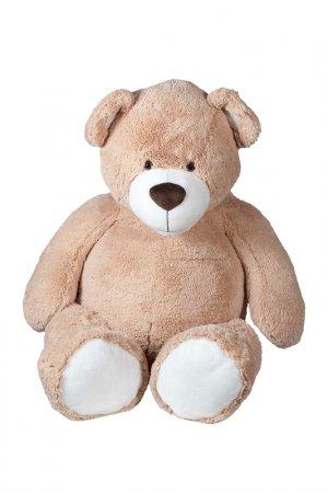 Мягкая игрушка Мишка 130 см MOLLI. Цвет: бежевый, белый