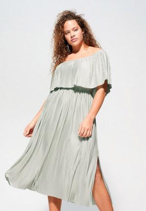 Платье Violeta by Mango - EVELYN. Цвет: серый