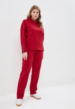 Костюм Rosso Style. Цвет: бордовый