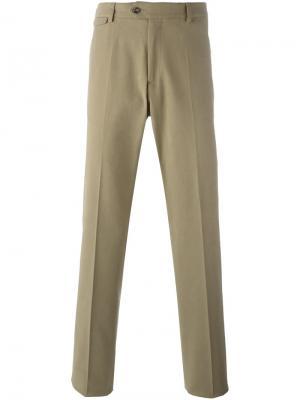 Классические брюки-чинос Paul & Shark. Цвет: бежевый