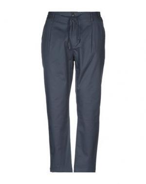 Повседневные брюки ANERKJENDT. Цвет: синий