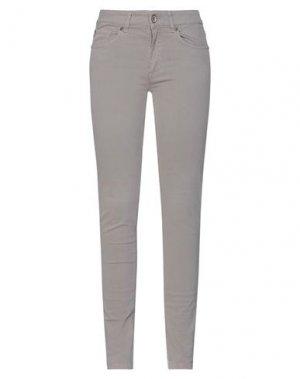 Повседневные брюки HENRY COTTON'S. Цвет: голубиный серый