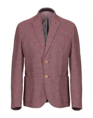Пиджак OUTFIT. Цвет: красно-коричневый