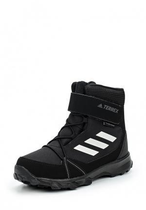 Бутсы adidas X 17.3 FG. Цвет: черный