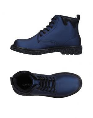 Высокие кеды и кроссовки CAFèNOIR. Цвет: темно-синий