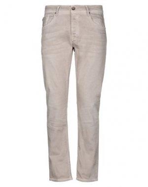 Джинсовые брюки GARCIA. Цвет: песочный