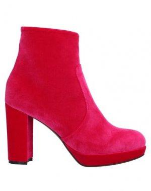 Полусапоги и высокие ботинки JUCCA. Цвет: фуксия