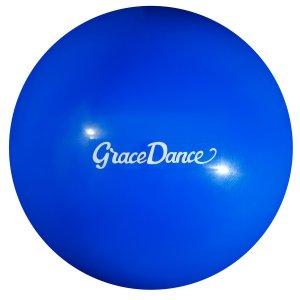 Мяч гимнастический 16,5 см, вес 260 г, цвет голубой Grace Dance