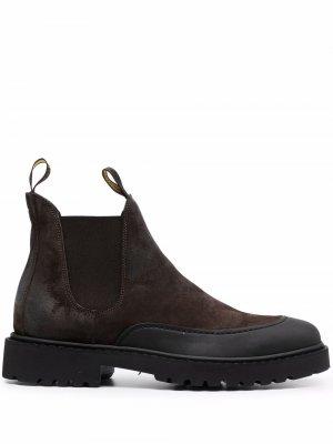 Doucals suede Chelsea boots Doucal's. Цвет: коричневый