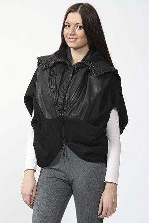 Куртка с капюшоном Ilaria Nistri. Цвет: черный