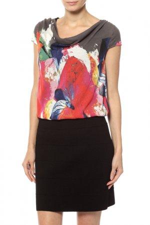 Платье Luisa Cerano. Цвет: черный, красный