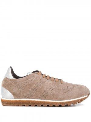 Кроссовки на плоской подошве Alberto Fasciani. Цвет: нейтральные цвета