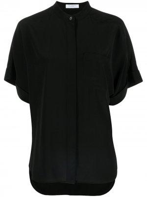 Рубашка с воротником-стойкой Equipment. Цвет: черный