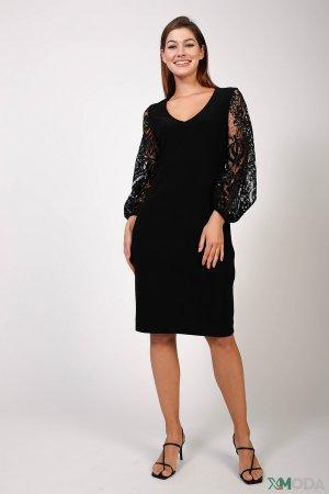 Короткое платье Joseph Ribkoff. Цвет: чёрный