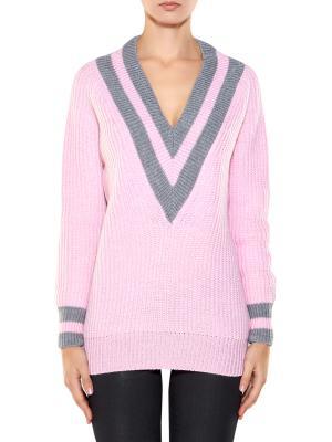 Пуловер A la Russe. Цвет: розовый