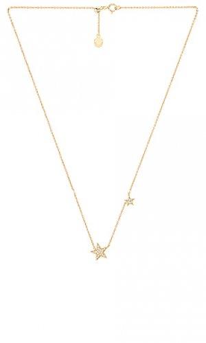 Ожерелье super star gorjana. Цвет: металлический золотой