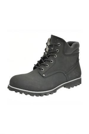 Ботинки Front by Ascot. Цвет: black, черный