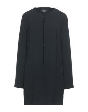 Легкое пальто EMME by MARELLA. Цвет: черный