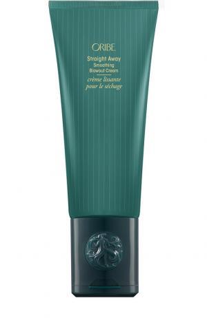 Полирующий крем для разглаживания волос Straight Away Oribe. Цвет: бесцветный
