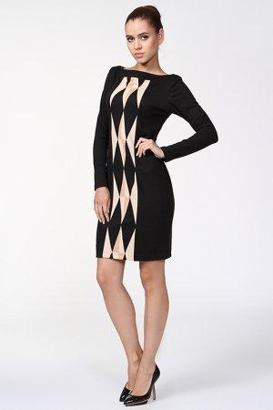 Платье Analili. Цвет: черный
